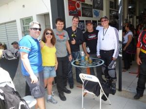 Alexandre, Dani, JG, Elder, Newton e Bokomoko