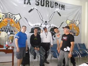 Alexandre, Elder, Bokomoko, JG e Newton.